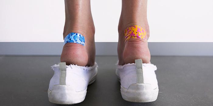 Новая обувь натирает пятки