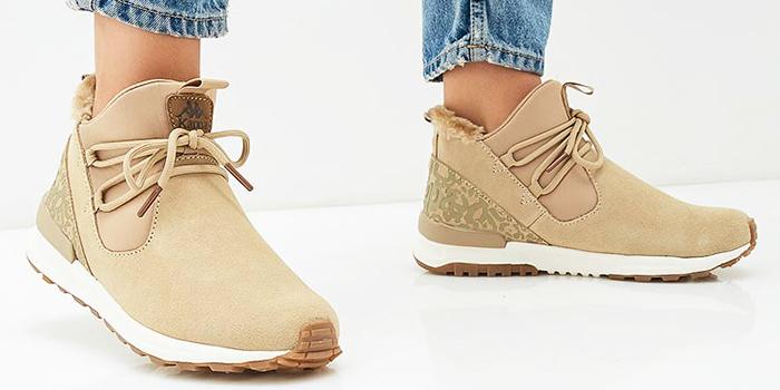 Зимние кроссовки с мехом
