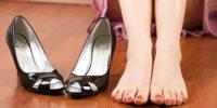 Разносить туфли из кожи