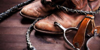 Американские ковбойские сапоги