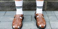 Сандалии с носками