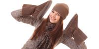 Теплая женская обувь на зиму