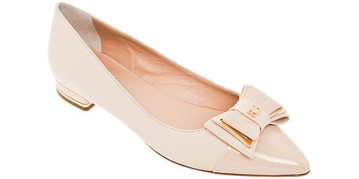 22cf95c64 С чем носить классические женские туфли на низком каблуке (фото)