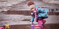 Детские весенние ботинки для девочки